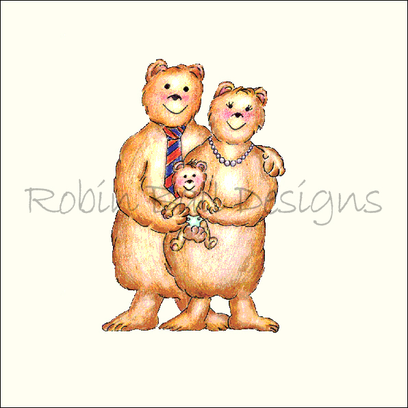 Bear Whimsical Designs Art Prints