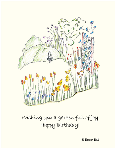 Inspirational Birthday Cards Wholesale Greeting Cards – Nature Birthday Card
