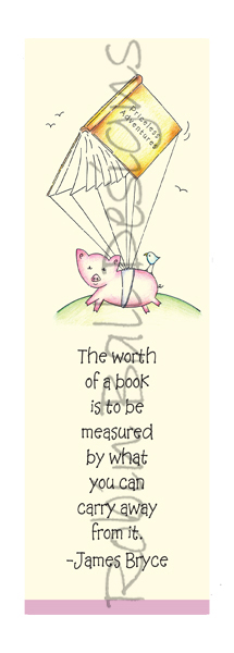 Flying Pig Cards & Bookmarks