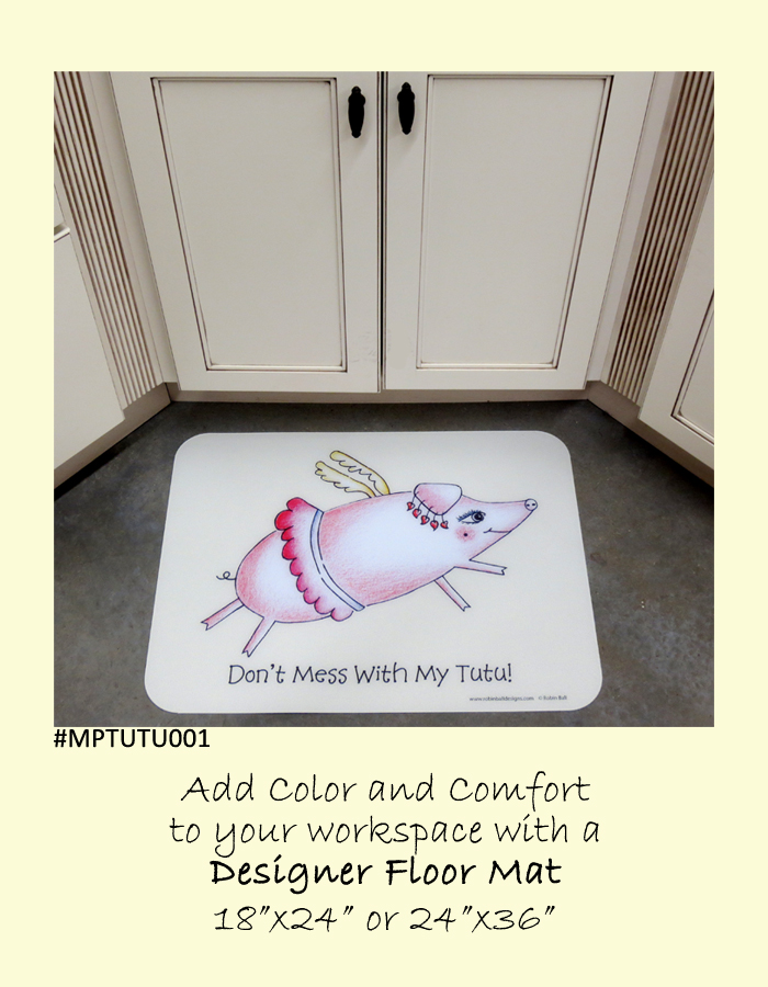 Pig Floor Mats Gifts Whimsical Artists