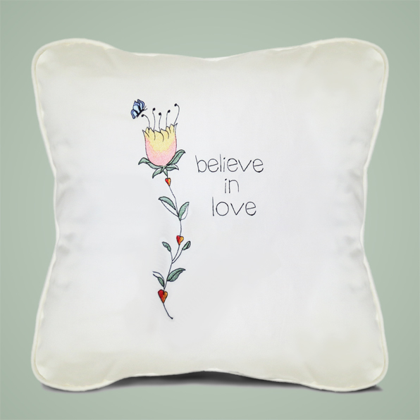 Throw Pillows With Sayings : Decorative Pillows Flower Pillow Pillows with Sayings Whimsical Designs Pillows Robin ...