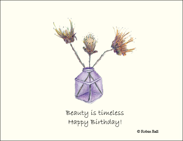 Boxed Birthday Nature Greeting Cards